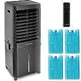 TROTEC Climatizador Aircooler, humidificador PAE 60 Aire acondicionado móvil local refresca, limpia e hidrata Temporizador y depósito de agua de 40 litros