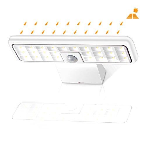 Solar Lights Outdoor, Sunix Super Bright 26 LED Solar Motion Sensor...
