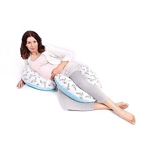 LULANDO - Almohada Para Las Mujeres Embarazadas Para Lactación Para Dormir Descansar Jugar