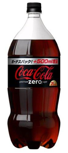 コカ・コーラ ゼロ 2L×6本 PET