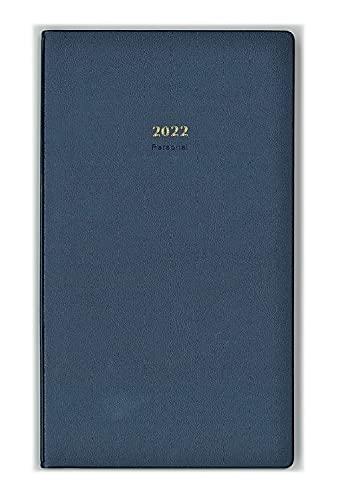 生産性手帳 2022年 マンスリー パーソナル ブルー No.1 (2021年12月始まり)