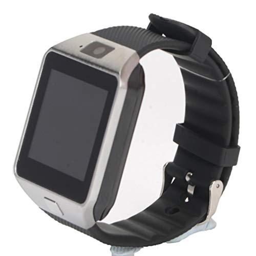 Niños Adultos Reloj Inteligente Smartwatch DZ09 Android Llamada telefónica Relogio 2G gsm SIM Tarjeta TF Cámara para iPhone para Samsung Negro