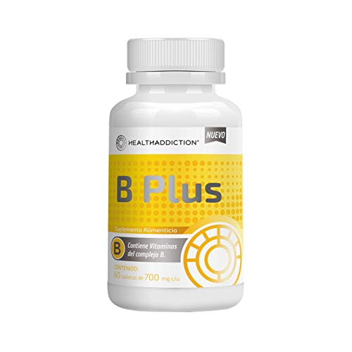 Complejo B HealthAddiction B Plus 60 tabletas de 700mg