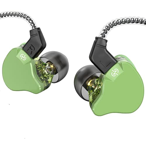 KBEAR KS1 and CCZ Emerald Monitor Earbuds Headphones