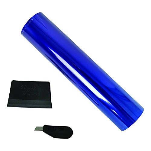 CARPOINT 2660035 Sonnenblendstreife blau 20 x 150 cm