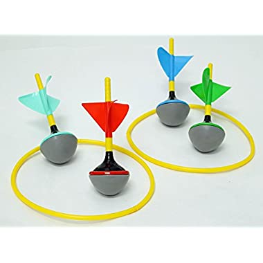 Party Outdoor Games for Family and Kids – Lawn Darts Games like Old Jarts Perfect Kids Outside Toys as Camping Yard Games for Adults and Family 6 Pieces Boxed Set Ideal for Backyard or Beach Parties