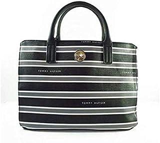 Tommy Hilfiger Bag For Women,Black & white - Satchels Bags