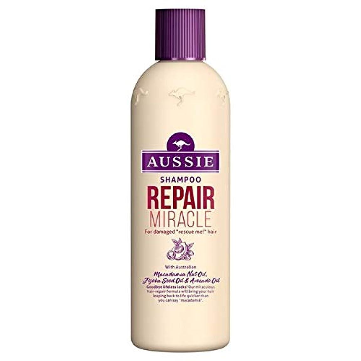 溶岩悪性のオピエート[Aussie ] いたずらな髪の300ミリリットルのすべての種類のオージーシャンプーの修理の奇跡 - Aussie Shampoo Repair Miracle for All Kinds of Naughty Hair 300ml [並行輸入品]