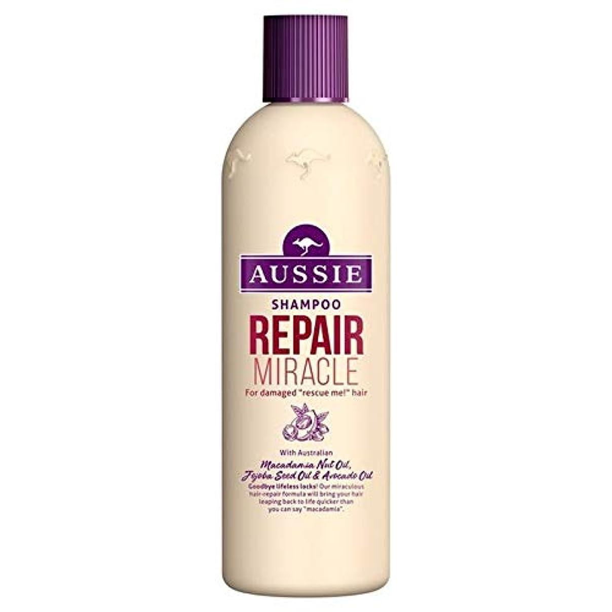 エリート葉を集める天窓[Aussie ] いたずらな髪の300ミリリットルのすべての種類のオージーシャンプーの修理の奇跡 - Aussie Shampoo Repair Miracle for All Kinds of Naughty Hair 300ml [並行輸入品]