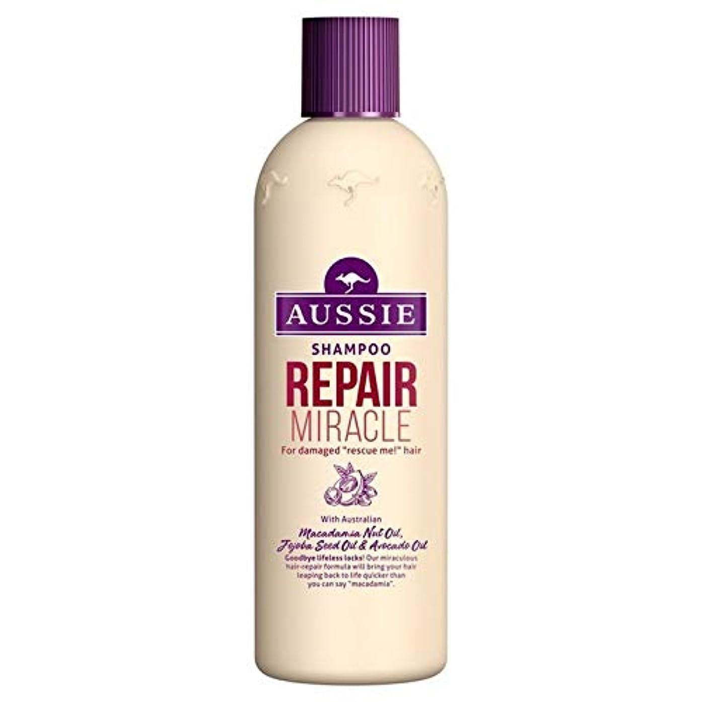 方程式のれん引き出す[Aussie ] いたずらな髪の300ミリリットルのすべての種類のオージーシャンプーの修理の奇跡 - Aussie Shampoo Repair Miracle for All Kinds of Naughty Hair 300ml [並行輸入品]