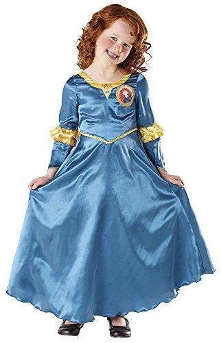 Rubie's-déguisement officiel - Disney- Déguisement Costume Classique Mérida Rebelle - Taille 5-6 Ans- I-881877M
