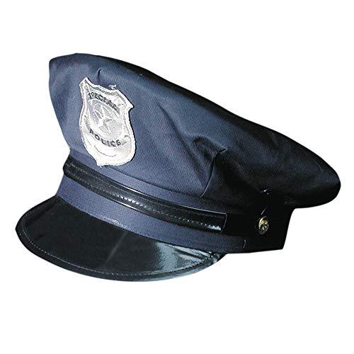 Marco Porta Polizeimütze verstellbar Polizei Hut
