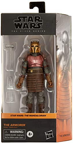 Star Wars – Edition Collector – Figurine Black Series The Armorer - 15 cm