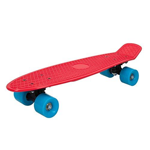 ColorBaby - Monopatín con ruedas PVC 55 cm - Rojo (75830)
