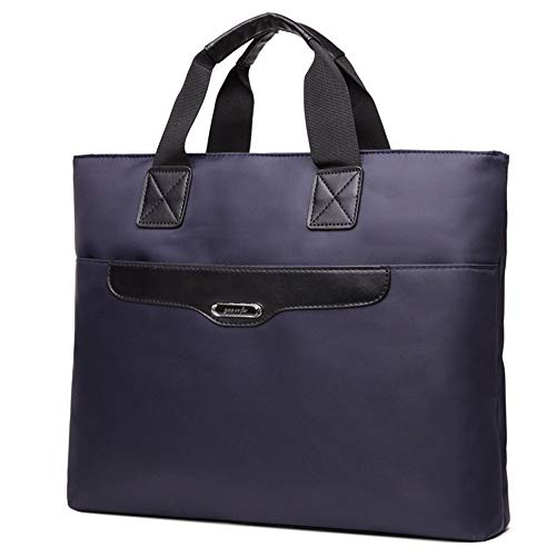 Heren Messenger Bag Laptop Bag Conferentie Document Pakket A4 Hoogwaardige Oxford Doek Aktetas Oxford Doek Opslag Uitbreidbare Grote Capaciteit Zakelijke Aktetas