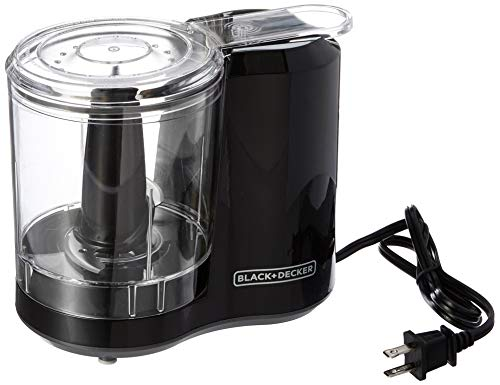 BLACK+DECKER 3-Cup Electric Food Ch…