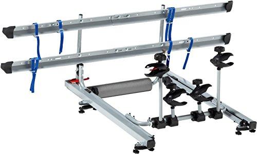 FISCHER 18092 Dachlift Fahrradträger für 2 Fahrräder, Dachfahrradträger fürs Autodach, TÜV/GS geprüft, bis 30 kg belastbar