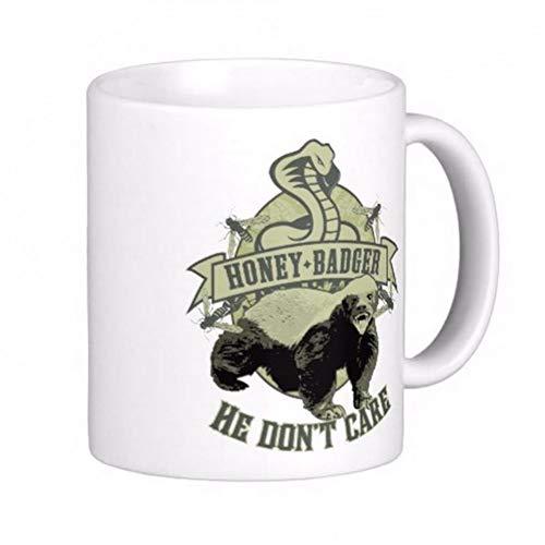 HUYHUY honing das niet zorgen witte koffie mokken thee mok aanpassen geschenk keramische mok reizen koffie mokken