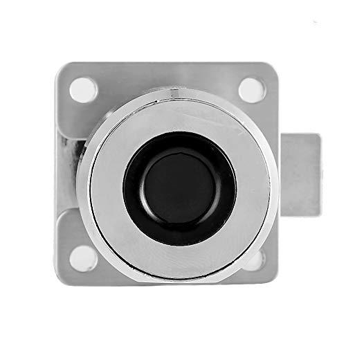 Cerradura Inteligente sin Llave, Cerradura portátil con Huella Dactilar, antióxido, Universal, Conveniente para cajones, armarios