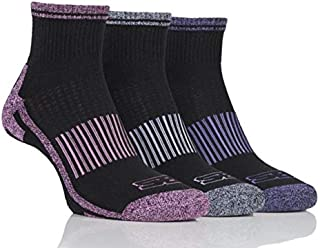STORM BLOC Women's 3 Pack Womens Breathable Cushioned Ankle Sport Socks
