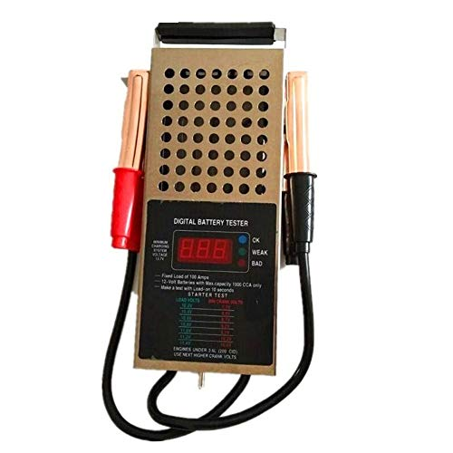 Fantastic Deal! C.W.USJ Car Tester Tool Digital car Truck Motor 125 amp 6/12V Battery Load Tester