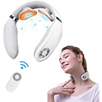 SKG Portable Neck Massager with Heat Cordless