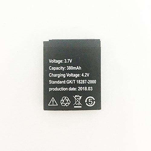 OCTelect Intelligente Uhr 3.7V Lithiumbatterie 380MAH für A1 / G10 / G10A intelligente Uhr