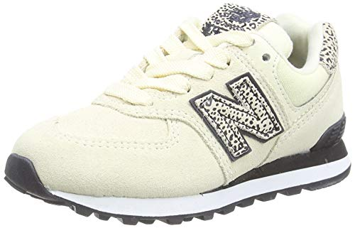New Balance 574 PC574AND Medium, Zapatillas Niñas, White (Angora and), 31