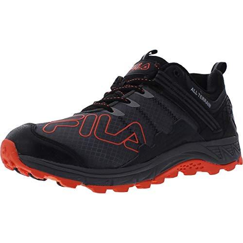 Fila Blowout 19 Trail Castlerock/Black/Red Orange 10.5
