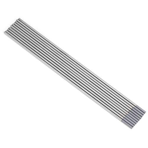 Electrodo de electrodo de soldadura de cerio WC20, para soldadora DC TIG(2.0 * 150mm)
