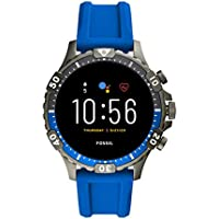 Fossil Gen 5 Garrett Stainless Steel Touchscreen Smartwatch with Speaker