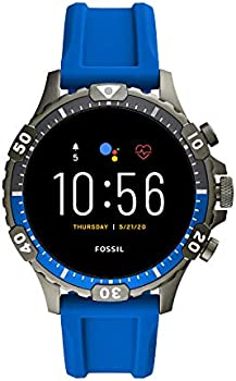 Fossil Gen 5 Garrett Stainless Steel Touchscreen Smartwatch with Speaker