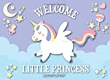 Unicorn Baby Shower Guest Book: It's a Girl: Unicorn Guestbook + BONUS Baby Shower Gift Log and Keepsake Pages, Advice for Parents Sign-In, baby ... baby shower notebook, baby shower journal