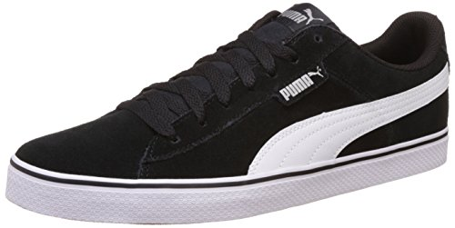 Puma Puma 1948 Vulc, Unisex-Erwachsene Sneakers, Schwarz (black-white 04), 45 EU (10.5 Erwachsene UK)