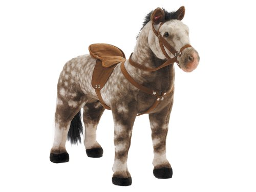 Happy People 58933 Thoroughbred Apple Grey Horse, Multi-Color