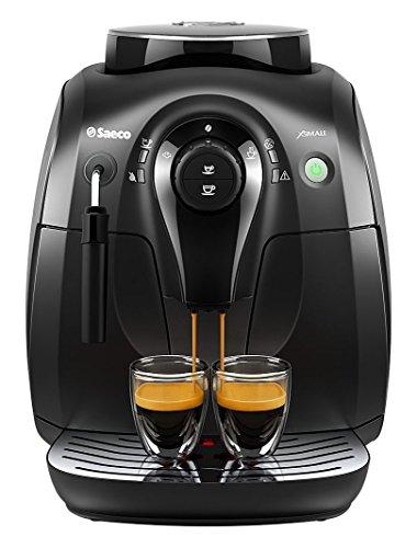 Philips Saeco Xsmall HD8645/47 Superautomatic Espresso Machine - Graphite & Black (Renewed)