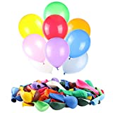 120 PCS Balloons Assorted Color, Latex Balloons for Kid's Birthday Party, Exquisite Birthday Balloons, 12 Inches & 12 Kinds of Rianbow Colorful Party Balloon Decorations.