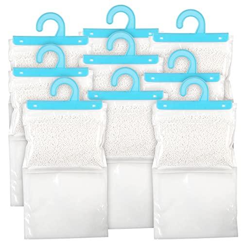 Sichler Haushaltsgeräte Schimmelstop-Entfeuchter: 9er-Set XXL-Kleiderschrank-Entfeuchter zum Aufhängen, je bis zu 1 l (Mini-Raum-Entfeuchter)