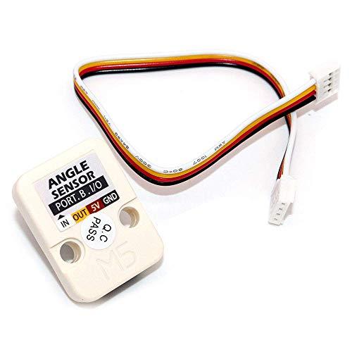 DollaTek M5 Officiel Mini Unit Angle à résistance Interne connecteur GPIO Grove réglable
