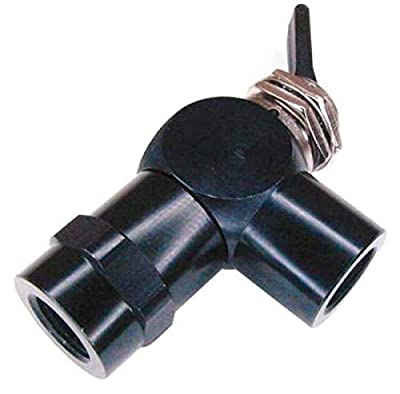 Toggle Valve, NC, 1/8 In, FNPT, Plastic from PNEUMADYNE INC