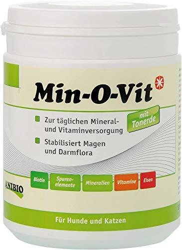 Anibio Min-O-VIT 450 g Ergänzungsfutter für Hunde und Katzen, 1er Pack