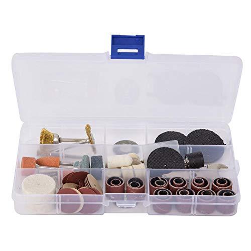 Accesorios para herramientas rotativas, accesorio de amoladora eléctrica de 93 piezas para rectificado, pulido, grabado, recorte