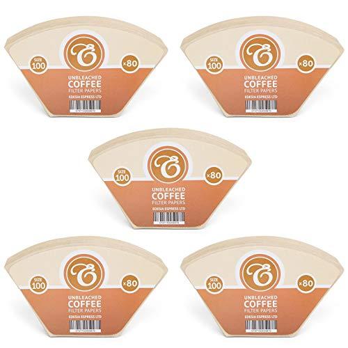 EDESIA ESPRESS - Kaffee-Filtertüten für Melitta Aromaboy - ungebleicht - Größe 100-400 Stück