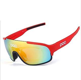 Solle Unisex poc Gafas de Sol polarizadas - Ciclismo MTB Running Coche Moto Montaña Gafas de Moda,117