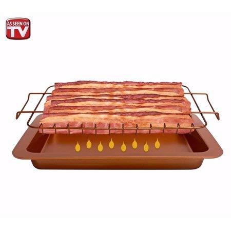 As Seen on TV Gotham Steel Bacon Bonanza Cooker, 2 piece set