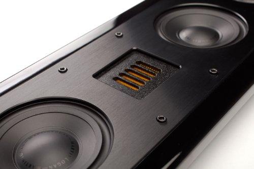 MartinLogan Motion SLM Hi-Performance Flat Panel LCR Speaker - Gloss Black - Each