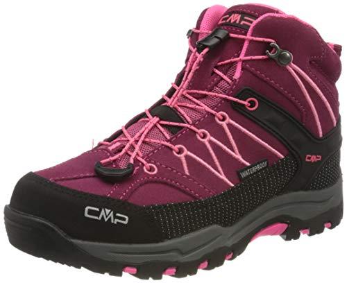 CMP – F.lli Campagnolo Unisex-Kinder Kids Rigel Mid Shoe Wp Trekking- & Wanderstiefel, Pink (Goji-Gloss 20HE), 29 EU
