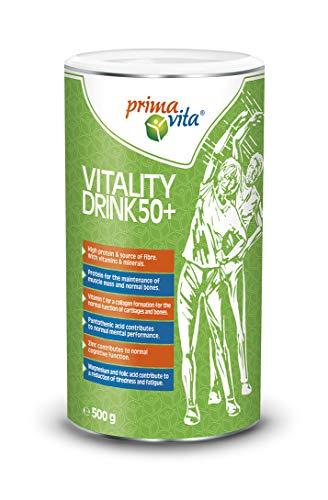 Primavita - Batido 50+ para fomentar la fuerza y la vitalidad, 500g (14 raciones)