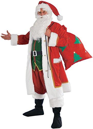 chiber - Disfraz Papa Noel con Saco