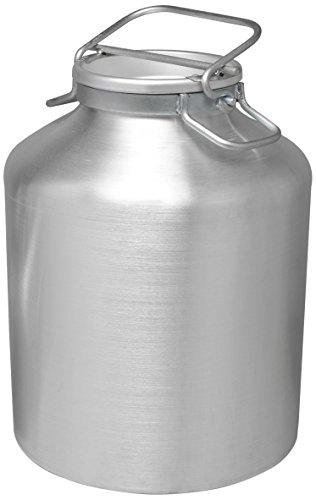 PARDINI Bidone da Olio/Latte, in Alluminio, Argento, 25 Litri